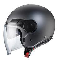 オープンフェイスヘルメット Caberg アップタウンマットガン