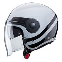 Caberg Uptown Chrono Helmet Light Grey Black