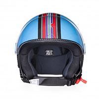 Casco Vespa V-Stripes azul