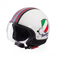 Casque Vespa V-stripes Blanc