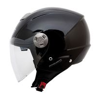 Mt Helmets City Eleven Sv Solid Black