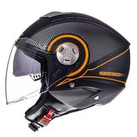 Mt Helmets City Eleven Sv Tron Matt Orange