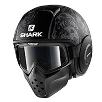 Shark Drak Sanctus Nero Opaco Anthracite