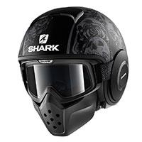 Shark Drak Sanctus Matt Black Anthracite