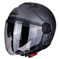 Jet Helmet Scorpion Exo-city Blurr Black