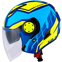 Casco Givi 12.3 Stratos Shade Blu Giallo