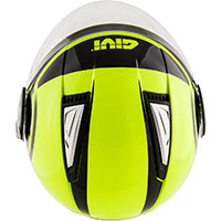 Givi Air Jet R Round Helmet Yellow