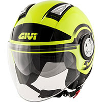 Casco Givi Air Jet R Round amarillo