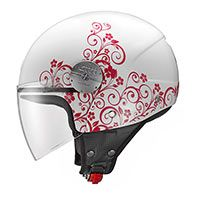 Givi Casco Hps Demi-jet Bobber 10.7 Art Nouveau Rosa Donna