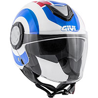 Givi 12.4 Future Big Helmet Blue Red