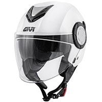 Givi 12.4 Future Solid Helmet White