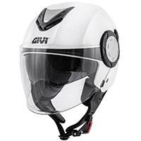 Givi 12.4 フューチャーソリッドヘルメット ホワイト