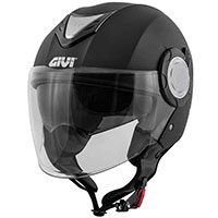 Givi 12.4 Future Solid Helmet Matt Black