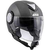 Casco Givi 12.4 Future Solid Titanio Opaco