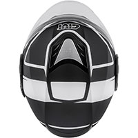 Givi 12.4 Future Stripes Helmet Black White