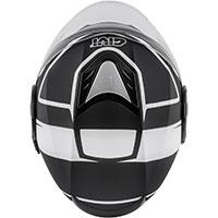 Casco Givi 12.4 Future Stripes Nero Bianco