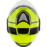 Casco Givi 12.4 Future Stripes Giallo Nero