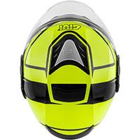 Givi 12.4 フューチャーストライプ ヘルメット イエロー ブラック