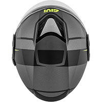 Givi 12.4 Future Stripes Helmet Titanium Black