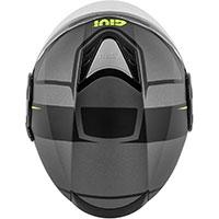 Givi 12.4 フューチャーストライプ ヘルメット チタン ブラック