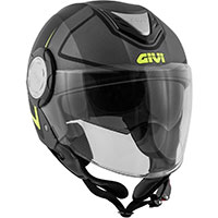 Casco Givi 12.4 Future Stripes Tianio Nero