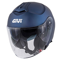 Givi X.22 Planet Solid Helmet Blue Matt