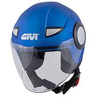 Givi Junior 5 Solid Helmet Blue Matt Kid