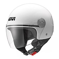 Givi 10.7 Mini J Solid Helmet White