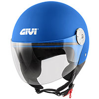Casco Givi 10.7 Mini J Solid Blu Metallico