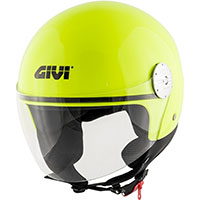 Givi 10.7 Mini J Solid Helmet Yellow