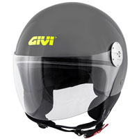 Givi 10.7 Mini J Solid Helmet Grey