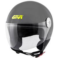 Casco Givi 10.7 Mini J Solid gris
