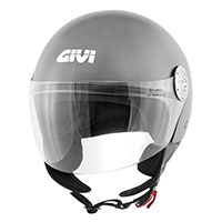 Casco Givi 10.7 Mini J Solid titanio mate