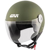 Casco Givi 10.7 Mini J Solid verde militar