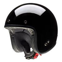 Givi Jet Helmet 20.7 Oldster Glossy Black