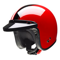 Givi Jet Helmet 20.7 Oldster Red/black