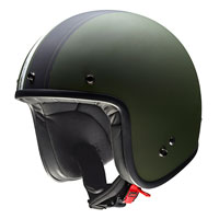 Givi Jet Helmet 20.7 Oldster Military Green/black