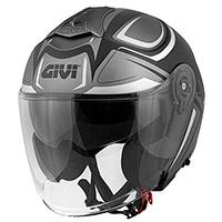 Givi X.22 Planet Hyper Helmet Titanium Silver