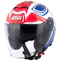 Givi X.22 Planet Hyper Helmet White Blue Red