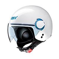 グレックス G3.1E 結合ヘルメット ブルー ホワイト
