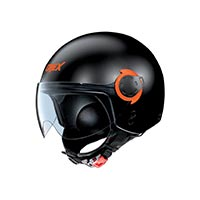 Grex G3.1e Couplé Helmet Black Orange