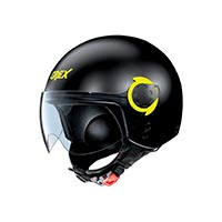 Grex G3.1e Couplé Helmet Black Yellow