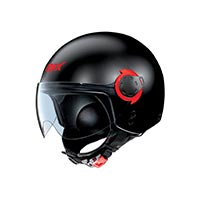 Grex G3.1e Couplé Helmet Black Red