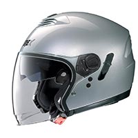 Grex G4.1e Kinetic Helmet Metal Silver