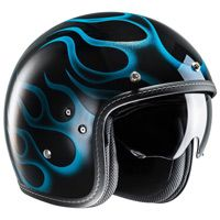 Hjc Fg-70s Aries Mc2 Helmet Black Blue