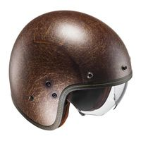 Hjc Fg-70s Vintage Semi Opaco Marrone