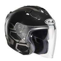 Hjc Fg-jet Dukas Mc5 Helmet Black Gray