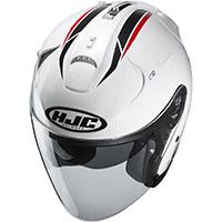 Hjc Fg Jet Paton Helmet White