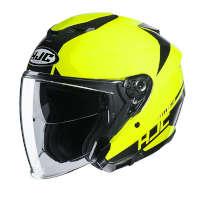 Hjc I30 Baras Open Face Helmets Fluo Yellow