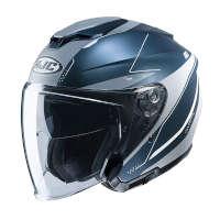 Hjc I30 Slight Open Face Helmets Blue